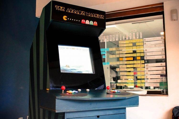 agile arcade machine project
