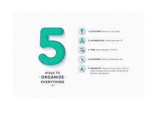 Lean UX: Organize Information